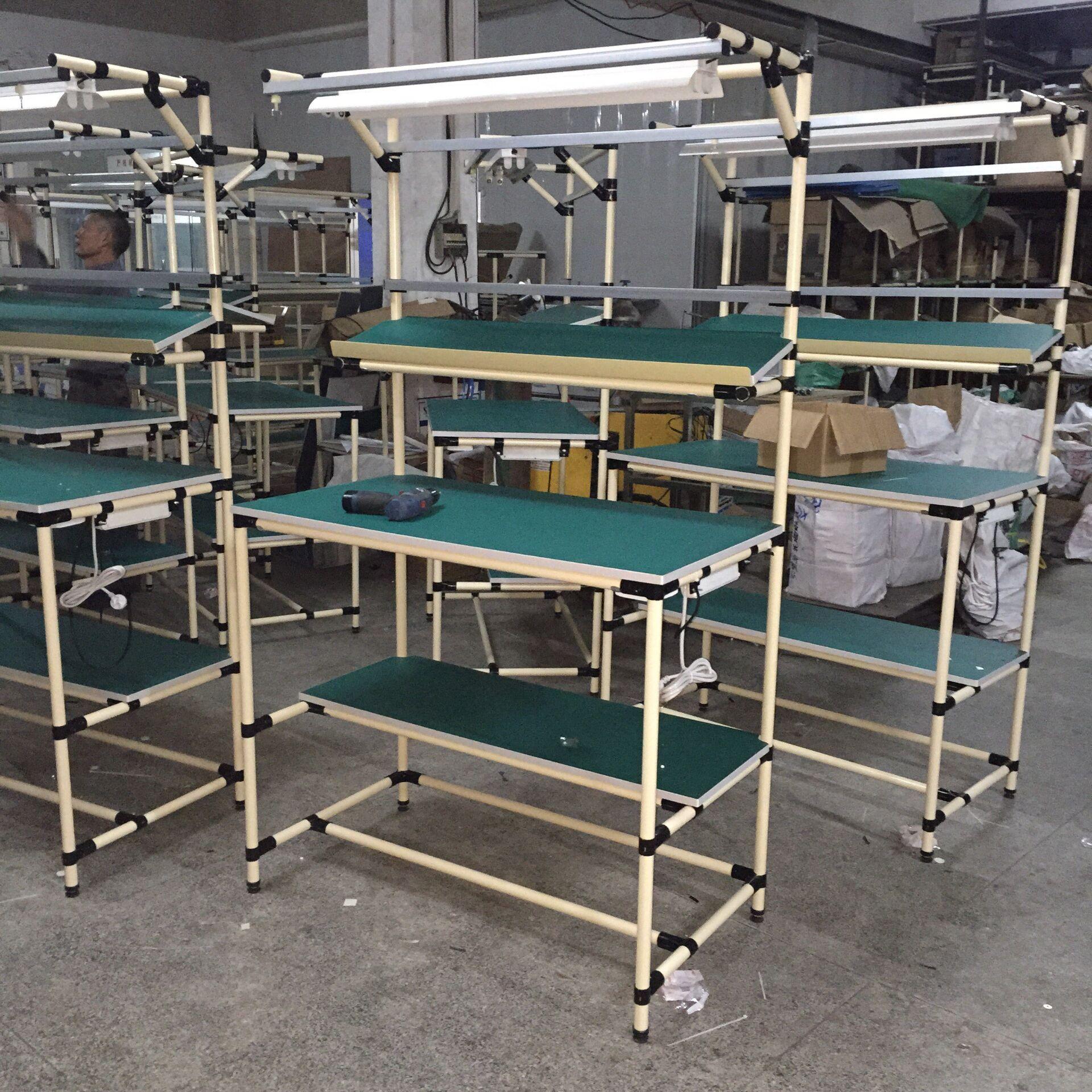 防静电精益管工作台厂家-防静电