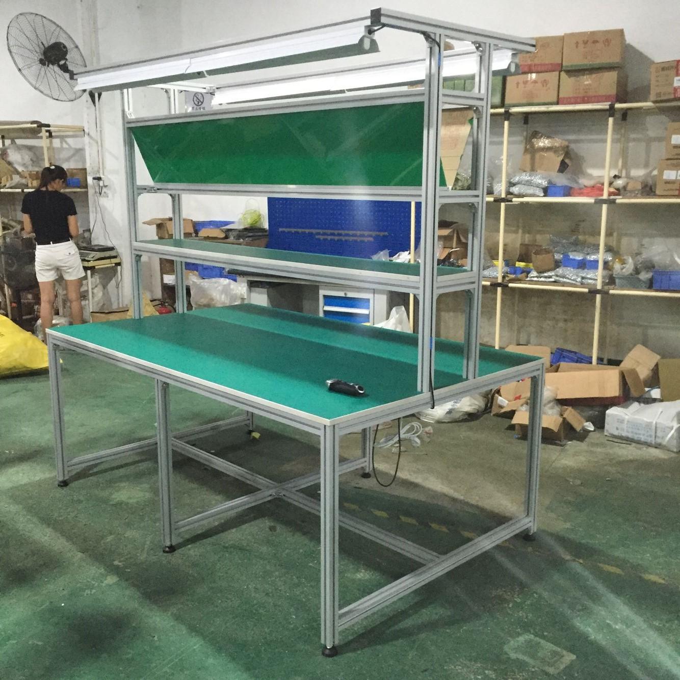 铝材双边作业台