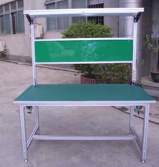 车间工作台_复合管防材料yu铝型材