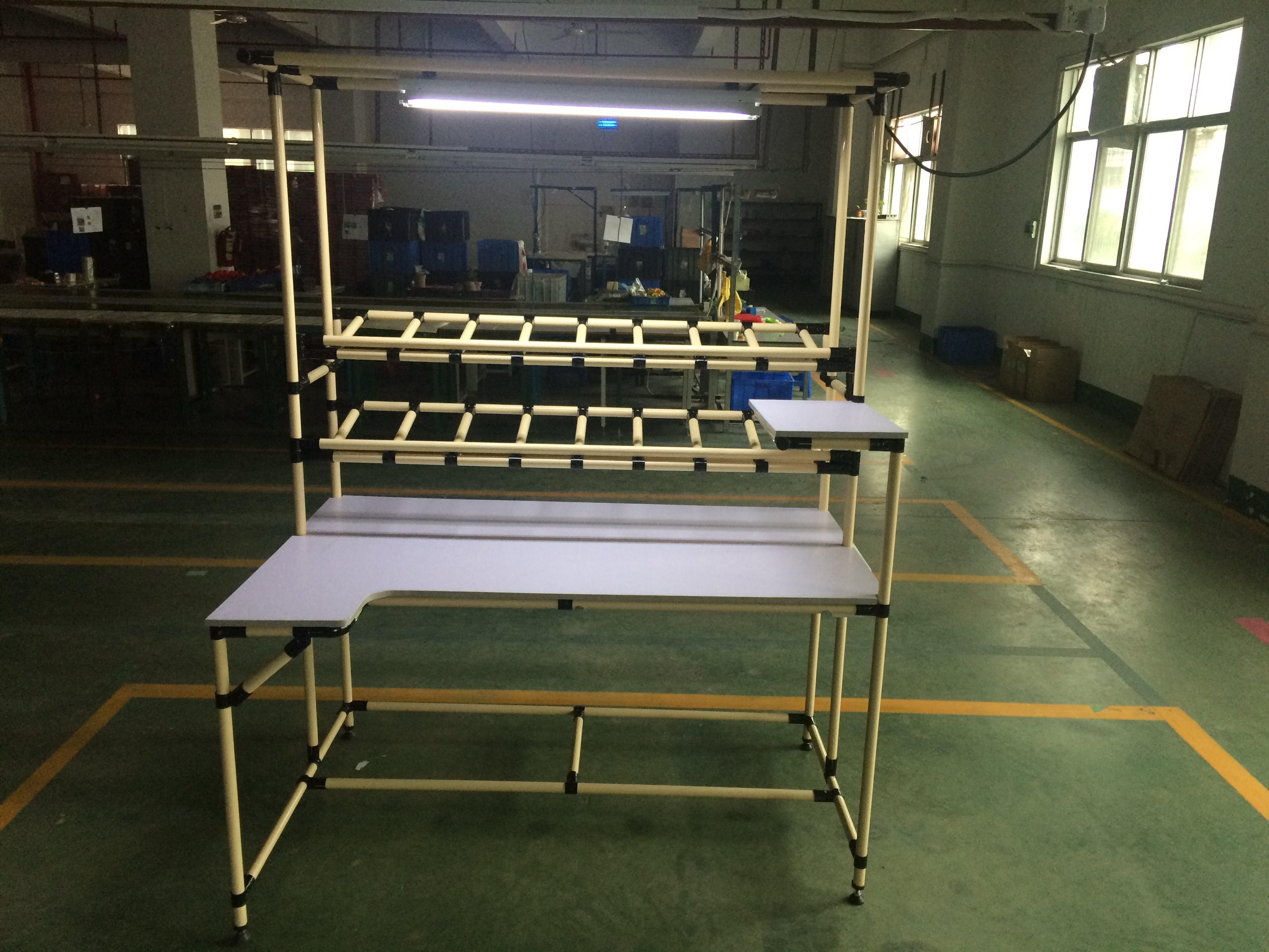防静电工作台传动带车间生产线工作台-2020-07-29-04