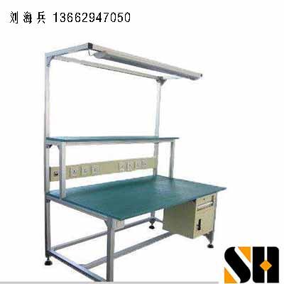 防静电工作台运用于车间生产线有哪些,线棒,复合管工作台